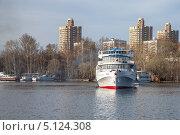 Теплоход Цезарь (2013 год). Редакционное фото, фотограф Александр Каримов / Фотобанк Лори