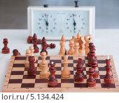 Купить «Шахматы», фото № 5134424, снято 7 марта 2013 г. (c) Литвяк Игорь / Фотобанк Лори