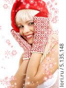 Купить «Красивая девушка в зимней шапке», фото № 5135148, снято 14 августа 2006 г. (c) Syda Productions / Фотобанк Лори