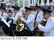 Купить «Полицейский духовой оркестр», фото № 5139140, снято 12 июня 2013 г. (c) Free Wind / Фотобанк Лори