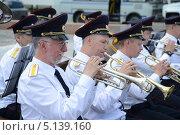Купить «Полицейский духовой оркестр», фото № 5139160, снято 12 июня 2013 г. (c) Free Wind / Фотобанк Лори