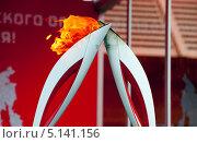 Передача олимпийского огня (2013 год). Редакционное фото, фотограф Артем Мишуков / Фотобанк Лори