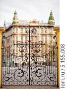 Кованные ворота (2012 год). Редакционное фото, фотограф Михаил Тайманов / Фотобанк Лори