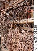 Ржавое железо. Стоковое фото, фотограф Коржавин Александр / Фотобанк Лори