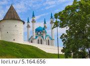 Казанский Кремль и мечеть Кул-Шариф (2009 год). Стоковое фото, фотограф Степанова М Е / Фотобанк Лори