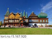Деревянный дворец царя Алексея Михайловича в Коломенском (2013 год). Редакционное фото, фотограф Дмитрий Востриков / Фотобанк Лори