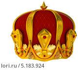 Корона. Изолировано на белом. Стоковая иллюстрация, иллюстратор Иван Гусев / Фотобанк Лори
