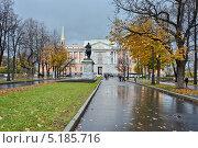 Купить «Вид на Михайловский замок. Петербург», эксклюзивное фото № 5185716, снято 19 октября 2013 г. (c) Александр Алексеев / Фотобанк Лори