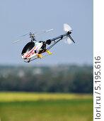 Купить «Модель вертолета в полете», фото № 5195616, снято 27 августа 2011 г. (c) Sanna / Фотобанк Лори