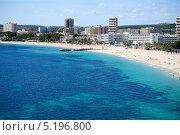 Купить «Пляж Пальма нова, Мальорка», фото № 5196800, снято 29 октября 2012 г. (c) Татьяна Кахилл / Фотобанк Лори