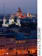 Вечерний Санкт-Петербург (2013 год). Редакционное фото, фотограф Наталья Есипова / Фотобанк Лори