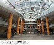 Холл Национальной библиотеки Беларуси (2013 год). Стоковое фото, фотограф Максим Монахов / Фотобанк Лори
