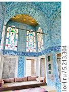 Интерьер дворца Топкапы в Стамбуле, Турция (2013 год). Стоковое фото, фотограф Валерия Лузина / Фотобанк Лори