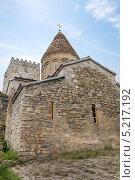 Купить «Церковь Успения на территории крепости Ананури. Грузия», фото № 5217192, снято 2 июля 2013 г. (c) Евгений Ткачёв / Фотобанк Лори