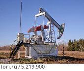 Купить «Добыча нефти», фото № 5219900, снято 13 октября 2013 г. (c) Сагирова Алсу / Фотобанк Лори