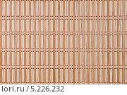 Поверхность бамбуковой салфетки. Стоковое фото, фотограф Лариса К / Фотобанк Лори