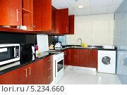 Купить «Кухня в отеле, Дубай, ОАЭ», фото № 5234660, снято 8 сентября 2013 г. (c) Хмельницкий Вячеслав / Фотобанк Лори