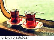 Турецкий чай. Стоковое фото, фотограф Юлия Марченко / Фотобанк Лори