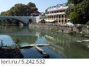 Купить «Русло реки Сочи в городе Сочи», фото № 5242532, снято 7 сентября 2012 г. (c) Михаил Иванов / Фотобанк Лори