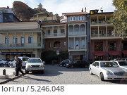 Район серных бань – Абанотубани, Тбилиси (2013 год). Редакционное фото, фотограф Виктор Филиппович Погонцев / Фотобанк Лори
