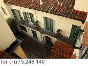 Внутренний дворик во Флоренции (2013 год). Стоковое фото, фотограф Инна Горохова / Фотобанк Лори