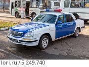 Купить «Самара. Автомобиль военной автоинспекции», фото № 5249740, снято 7 ноября 2013 г. (c) FotograFF / Фотобанк Лори