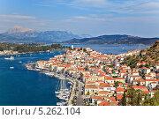 Купить «Греческий остров Порос солнечным днем», фото № 5262104, снято 18 декабря 2018 г. (c) Sergey Borisov / Фотобанк Лори