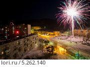 Новый год во Врангеле. Стоковое фото, фотограф Sergey  Kalabin / Фотобанк Лори