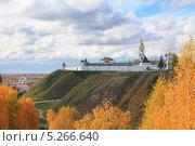 Величественный вид на старинный город Тобольск (2013 год). Редакционное фото, фотограф Анатолий Матвейчук / Фотобанк Лори
