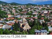 Вид старого города Кутаиси (2013 год). Стоковое фото, фотограф Евгений Суворов / Фотобанк Лори