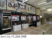 Купить «Музейная экспозиция, посвященная Первой мировой войне. Калининград», эксклюзивное фото № 5266948, снято 10 ноября 2013 г. (c) Ирина Борсученко / Фотобанк Лори