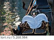 Венецианская гондола (2013 год). Стоковое фото, фотограф Алла Вовнянко / Фотобанк Лори