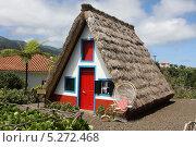 Купить «Старинный домик бедняка на Мадейре», фото № 5272468, снято 4 августа 2013 г. (c) Геннадий Милуцкий / Фотобанк Лори