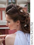 Купить «Девушка в белом», фото № 5273732, снято 18 июля 2013 г. (c) Александра Орехова / Фотобанк Лори