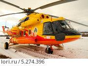 Ми-8АМТ (Ми-17) (2011 год). Редакционное фото, фотограф Алексей Леонтьев / Фотобанк Лори