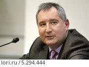 Дмитрий Рогозин (2011 год). Редакционное фото, фотограф Михаил Смирнов / Фотобанк Лори
