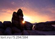 Проводы солнца. Стоковое фото, фотограф Романенко Денис / Фотобанк Лори