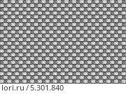 Чёрно белый узор для обоев. Стоковое фото, фотограф Ислам Ижаев / Фотобанк Лори