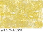 Текстура исцарапанной, неровной, жёлтой стены. Стоковое фото, фотограф Ислам Ижаев / Фотобанк Лори