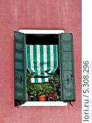 Венецианское окно (2013 год). Стоковое фото, фотограф Алла Вовнянко / Фотобанк Лори