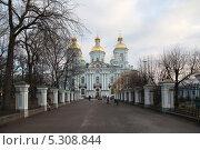 Купить «Никольский Морской собор в Санкт-петербурге», фото № 5308844, снято 24 ноября 2013 г. (c) Александр Секретарев / Фотобанк Лори