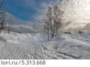 После снегопада. Стоковое фото, фотограф Ермихина Оксана / Фотобанк Лори