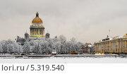 Купить «Зимняя Нева. Сенатская площадь», эксклюзивное фото № 5319540, снято 15 января 2010 г. (c) Александр Алексеев / Фотобанк Лори
