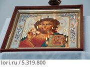 Икона в церквиь села Разумовка. Стоковое фото, фотограф Андрей Кондратюк / Фотобанк Лори
