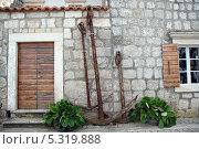 Купить «Хорватия.Старые якоря», эксклюзивное фото № 5319888, снято 16 сентября 2012 г. (c) Svet / Фотобанк Лори