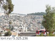 Купить «Частный сектор города Иерусалим. Израиль», фото № 5325236, снято 12 ноября 2013 г. (c) Александр Овчинников / Фотобанк Лори