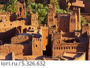 Купить «Касбах в Айт-Бенхадду, Марокко», фото № 5326632, снято 6 ноября 2013 г. (c) Александр Трофимов / Фотобанк Лори