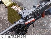 Купить «Прицельная планка ручного пулемета», фото № 5326644, снято 7 ноября 2013 г. (c) FotograFF / Фотобанк Лори