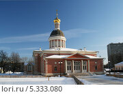 Купить «Церковь Рождества Христова. Рогожский поселок, Москва», фото № 5333080, снято 30 января 2012 г. (c) Alexey D. / Фотобанк Лори