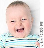 Портрет младенца. Стоковое фото, фотограф Nikolay Kostochka / Фотобанк Лори